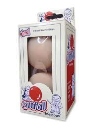 Gumball Toestops Short - 17 mm, natural
