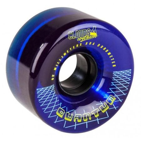 Koła Clouds Urethane Quantum 62mm 80a Clear/Blue