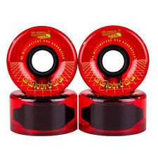 Koła Clouds Urethane Quantum 62mm 80a Clear/Red