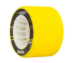 Radar Bullet Wheels 59 mm 88A Neon Yellow