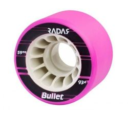 Radar Bullet Wheels 59 mm 91 A Neon Pink