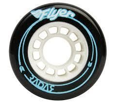 Radar Flyer Wheels 66 mm 78A Black