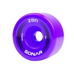 Sonar Zen Wheels 62mm 85A Purple