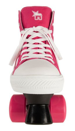 Wrotki Rookie Canvas High Pink