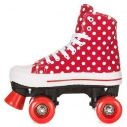 Wrotki Rookie Canvas High Polka Dots