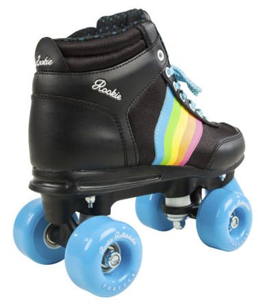 Wrotki Rookie Forever Rainbow Black