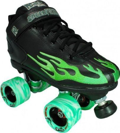 Wrotki Suregrip Rock Flame Black/Green